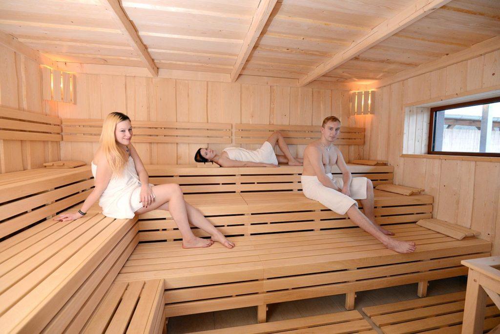 Knížecí Rybník - Wellness, sauna